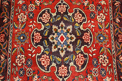c1930s ANTIQUE FINE DETAILED PERSIAN BIJAR RUG 2.7x4.7 MUST SEE BEAUTY_DONT MISS