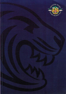 Leicester Tigers Share Prospectus 1997 England Rugby Booklet