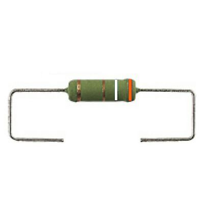 2 * 39 ohm 3 W Wire wound 3W resistor 39R power 39 R ww axial 3 Watt