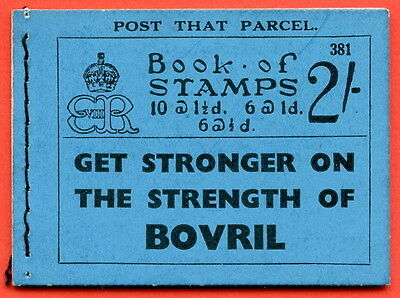 """SG. BC2. """" 2/- """". Edition Number 381. Edward VIII. A very fine example."""