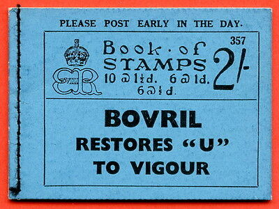 """SG. BC2. """" 2/- """". Edition Number 357. Edward VIII. A very fine example."""