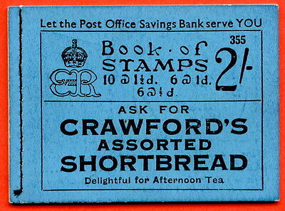 """SG. BC2. """" 2/- """". Edition Number 355. Edward VIII. A fine example."""