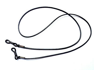 Black Sports Reading EYEGLASS GLASSES SPECTACLES CHAIN Neck Strap Cord HOLDER