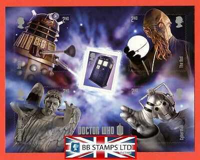 2013 MS. 3451 50 Years of Dr Who Minisheet.