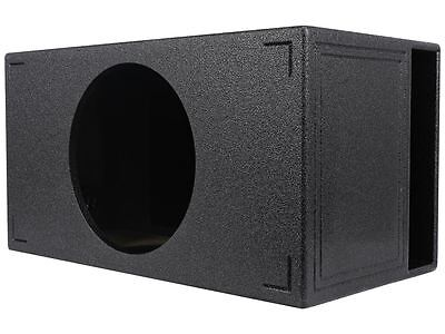 "Rockville RQB15 15"" QBOMB Vented Sub Enclosure Box, Bedliner Finish 3.85 Cu Ft"