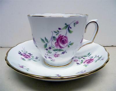 Crown Staffordshire-Fine Bone China Set-Footed Cup&saucer- England