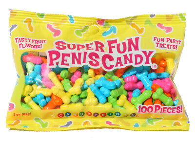 Fun Pecker Willy Dicky Penis Bag Adult Party Hens Night Favours Candy Candies