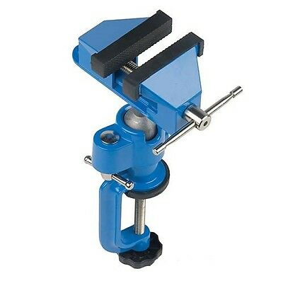 Multi Angle Vice 70MM with Rubber Jaws 50MM Opening Cast Iron Swivel Head Clamp