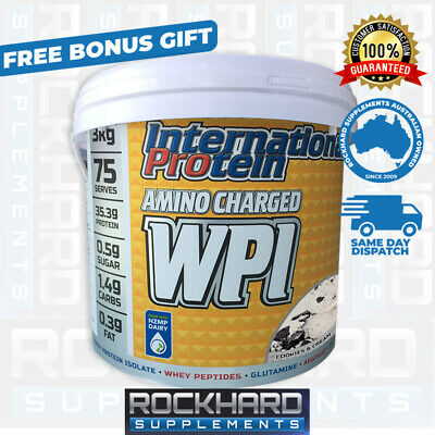 International Protein Amino Charged WPI 3kg Multi Pack Whey  Isolate
