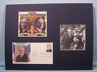 The Election of Warren G. Harding in 1920 & the First day Cover of his stamp