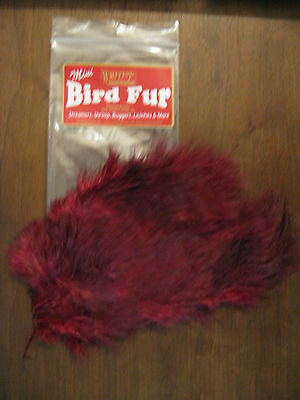 Fly Tying-Whiting Farms Spey Mini Bird Fur Golden Olive