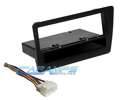 2001-2005 Civic Car Stereo Radio Installation Dash Trim Kit With Wiring Harness