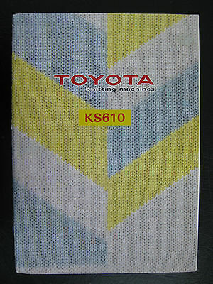 Toyota Kr310 Instruction Book , Ins10