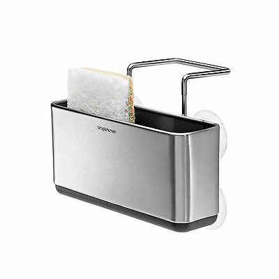 Simplehuman, Slim Sink Caddy, Brushed Stainless Steel (KT1134)