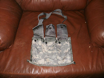 US Army Military Surplus MOLLE II 6 Mag ACU Bandoleer Pouch  SDS Bianco Eagle