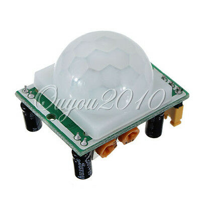 New Adjust IR Pyroelectric Infrared PIR Motion Sensor Detector Module HP