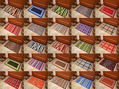 New Small Large Size Machine Washable Non Slip Kitchen Floor Door Mats Rug Cheap