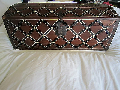 Antique Spanish Colonial Trunk***2nd PRICE REDUCTION OF $600.00