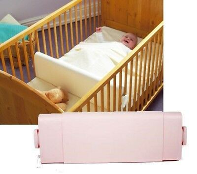 Safababy Safer Baby Sleeper - Sleep Positioner for Cots & Cot Beds - Pink