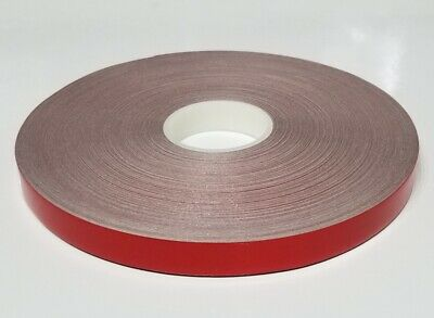 "1"" x 50 ft Red Reflective Pinstriping Safety Tape"