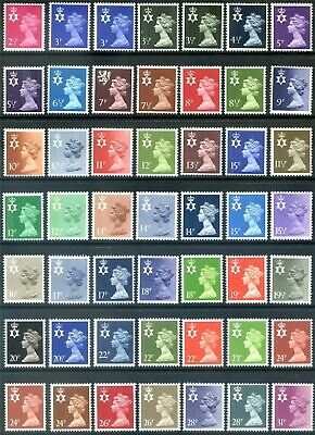 Regional Issues - Northern Ireland NI12 - NI64 ( Multiple Listing ) mint /  mnh