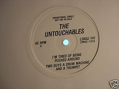 """Untouchables - Tired Of Being Pushed Around - Uk 12"""" - Electro Funk"""