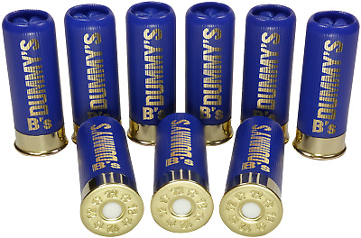 B's Dry Fire Snap Caps® Dummy 12 Gauge Training Rounds 9 x Low Brass Blue 12 Ga