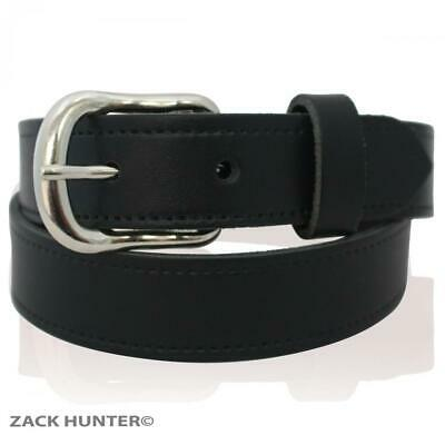 """Childrens  Real Leather 1"""" Belts Kids School Casual Belt Made In England 18""""-30"""""""