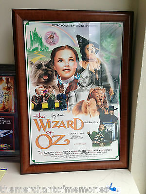 THE WIZARD OF OZ AUTOGRAPHED MOVIE POSTER Signed Autographed by 2 Munchkins NICE