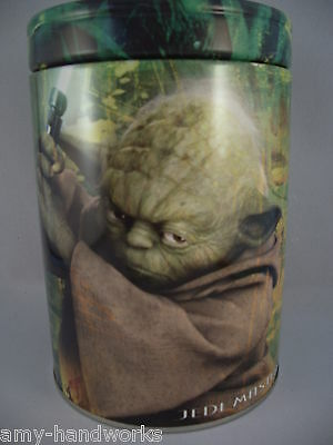 Yoda Jedi Master Star Wars Round Coin Bank The Tin Box Co