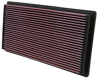 K&N Air Filter Element 33-2670 (Performance Replacement Panel Air Filter)