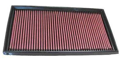 K&N Air Filter Element 33-2747 (Performance Replacement Panel Air Filter)