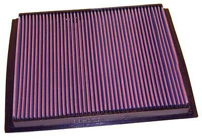 K&N Air Filter Element 33-2764 (Performance Replacement Panel Air Filter)