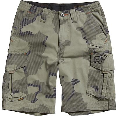 FOX RACING BOYS SLAMBOZO CARGO SHORTS motocross mx kids youth new MOSS CAMO