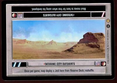 Star Wars Tatooine: City Outskirts LS CCG Card