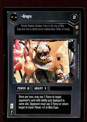 Star Wars Tatooine: Gregra DS CCG Card