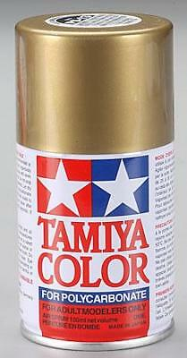 Tamiya Ps-13 Gold Polycarbonate Spray Paint  PS-13