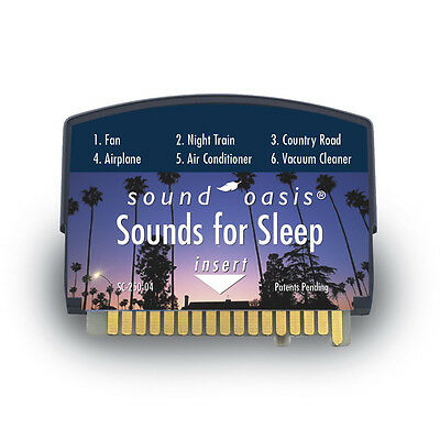 Sound Oasis Sound Therapy Expansion Sound Card Sounds for Sleep for S-550 S-560