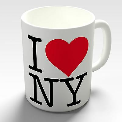 I Love NY New York Coffee Mug Gift