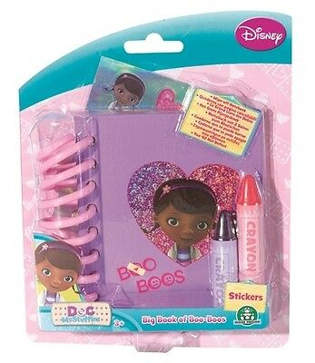 Disney Doc Mcstuffins Big Book Of Boo-boos Notebook Brand New Gift