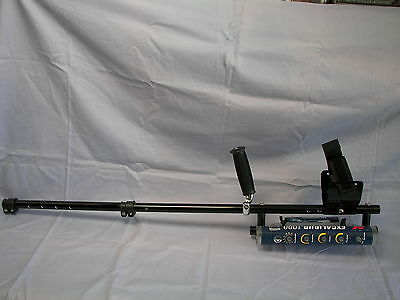 """Plugger 24"""" Aluminum Dive Shaft for Minelab Excalibur with Beach Extension"""