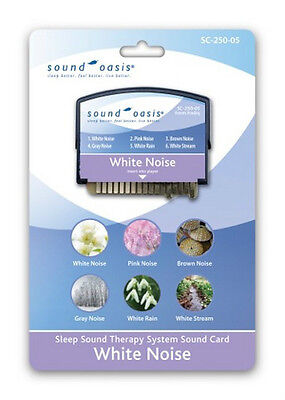 Sound Oasis Sound Therapy Expansion Sound Card White Noise SC-250-05