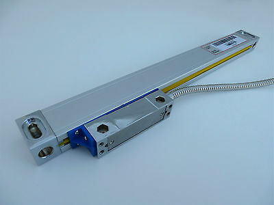 "Glass Scale Linear Encoder 200mm Easson .0002"" DRO Digital Readout 4 mill lathe"
