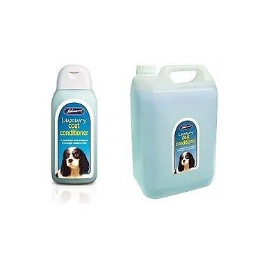 Luxury Coat Conditioner Shampoo Anti-Tangle Clean Dog Puppy Skin Fur All Breeds