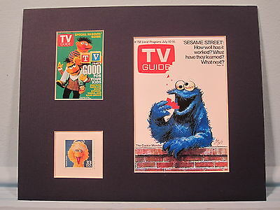 The Muppets on Sesame Street - Bert & Ernie, Cookie Monster & the Big Bird stamp