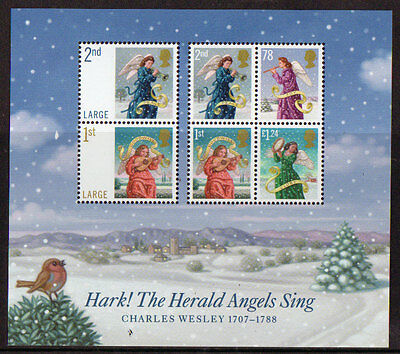 Great Britain 2007 Christmas Miniature Sheet Unmounted Mint, Mnh