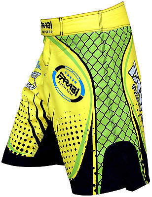 MMA Shorts Cage Fighting Grappling Training Compitiion Shorts