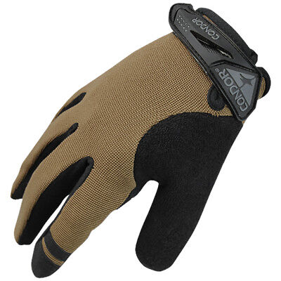 Condor Tactical Shooter Anti-Slip Grip Mens Gloves Hunting Airsoft Coyote Black