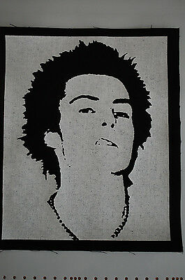 Sid Vicious Back Patch (BP39) Punk Rock Sex Pistols Adicts Ramones Bad Religion
