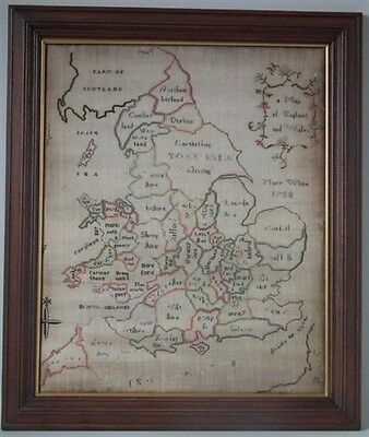 1788 Map Sampler by Mary White